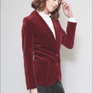 EUC!!! 70's 80's Vintage Velvet Schoolboy Blazer